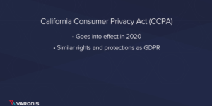 California Privacy Protection Act – 1 min Primer