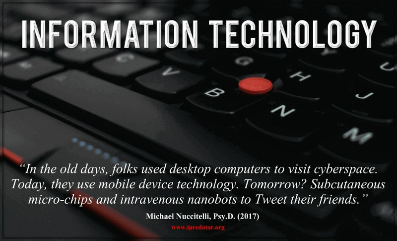 Information Technology with quote