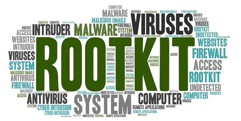 Rootkit word map