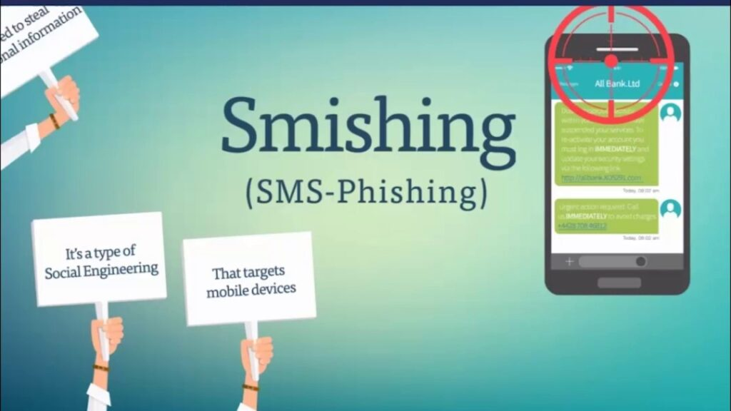 smishing threat phishing