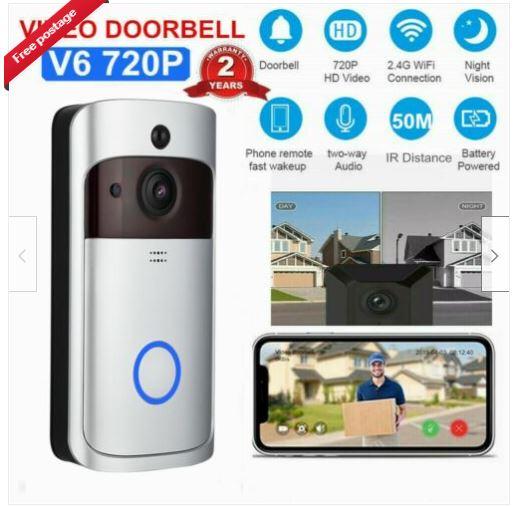 unbranded smart doorbell