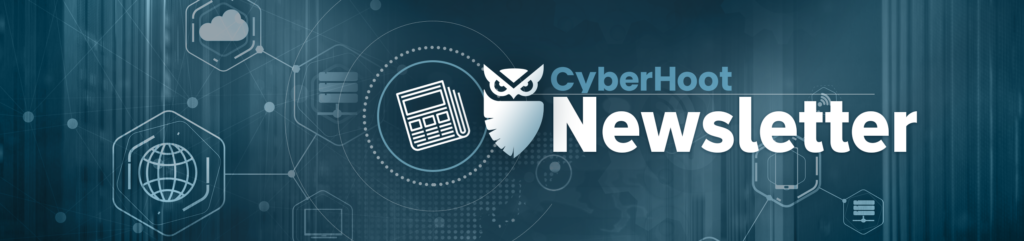 newsletter banner cyberhoot