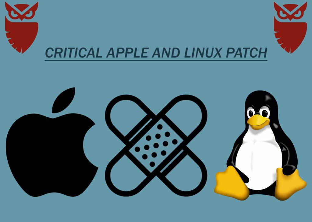 critical apple linux patch