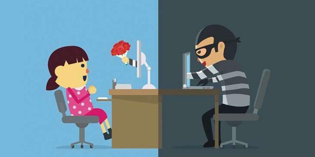 romance scams catfish