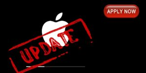 Apply Apple Update Now