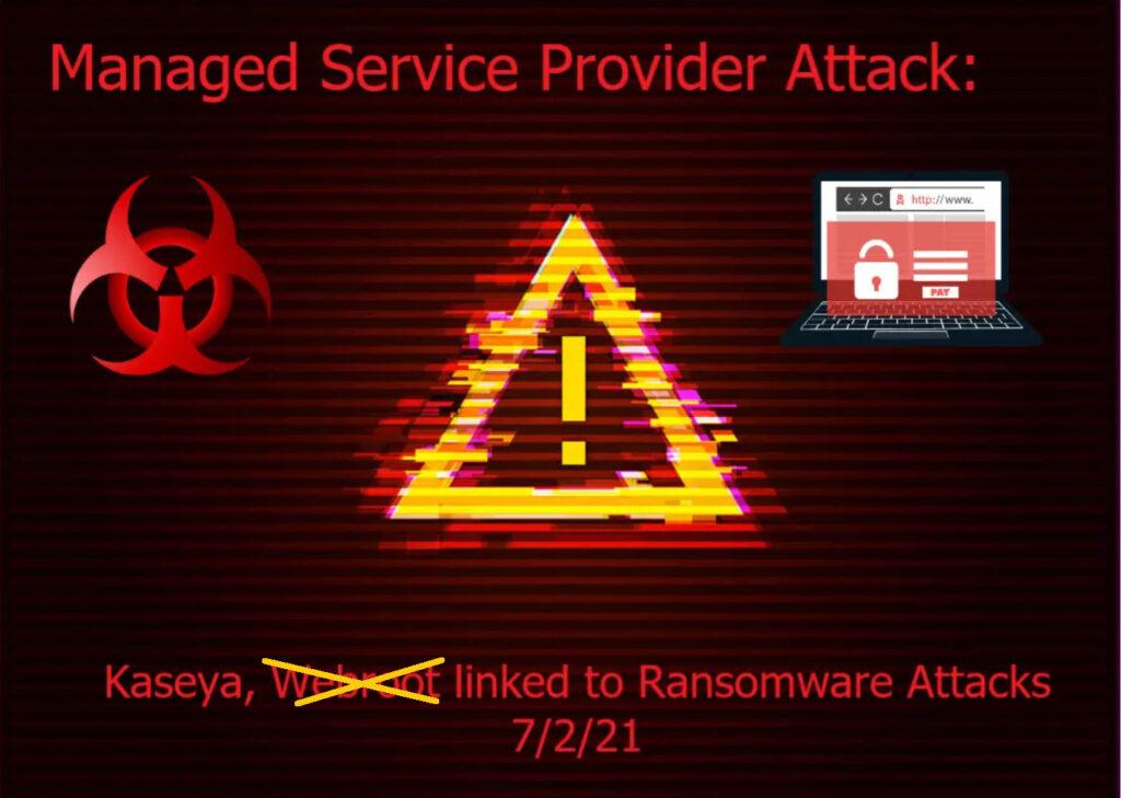 Kaseya RMM Tool Used to Spread Ransomware