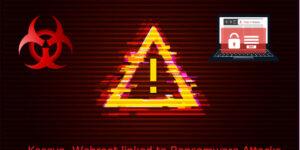 Ransomware Breach through MSPs running Kaseya